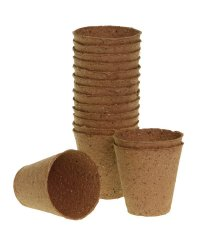 Romberg Biodegradable Pots 12 pc. round (Ø 11cm)