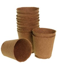 Romberg Biodegradable Pots 16 pc. round (Ø 8cm)