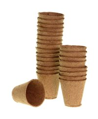Romberg Biodegradable Pots 24 pc. round (Ø 6cm)