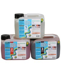 Advanced Hydroponics Set Grow, Bloom, Micro 5L