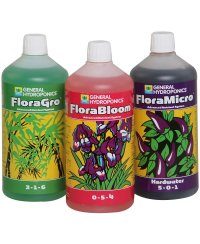 GHE Flora Series Set hard - 1 liter