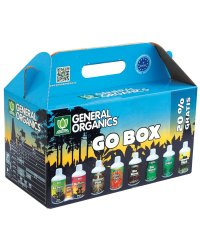 GHE General Organics GO BOX Nutrients Kit