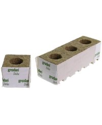 Grodan Rockwool Blocks Large Hole 7,5 x 7,5cm (48 pcs)