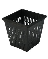 Square Mesh Pot for Hydroponic Systems 11x11x11cm
