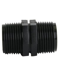 PE-Threaded Adapter, ¾ (Ext.Thread) ¾ (Ext.Thread)