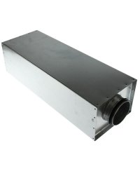 Rectangular Silencer Ø100mm