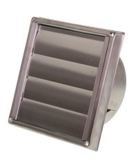 Ventilation-Shutter Stainless Steel Outdoor 100mm