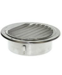 Ventilation grid stainless steel 150mm