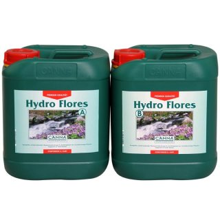 CANNA HYDRO Flores A+B 10 Liter soft water