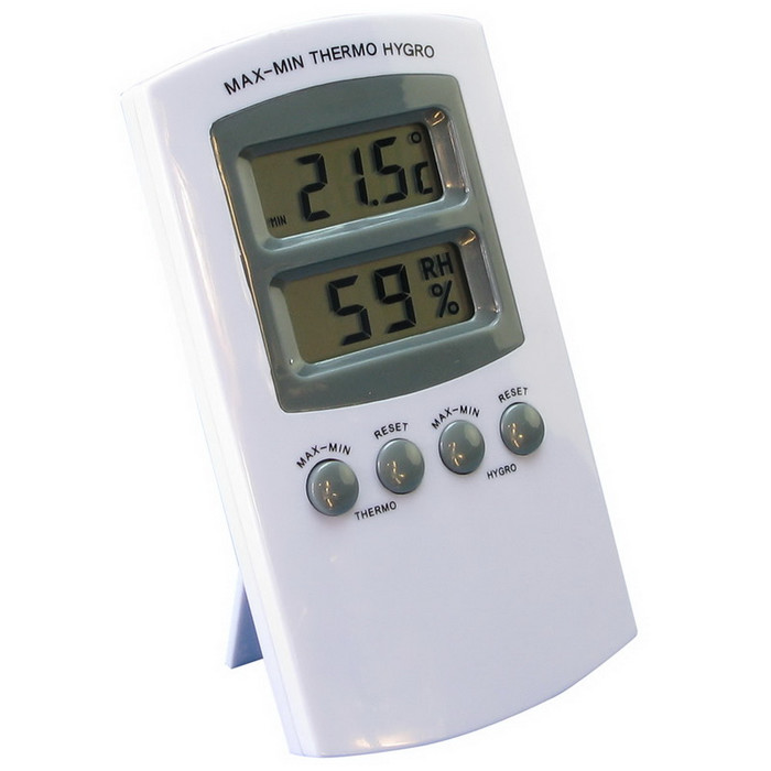 Digital Hygrometer/Thermometer with Memory