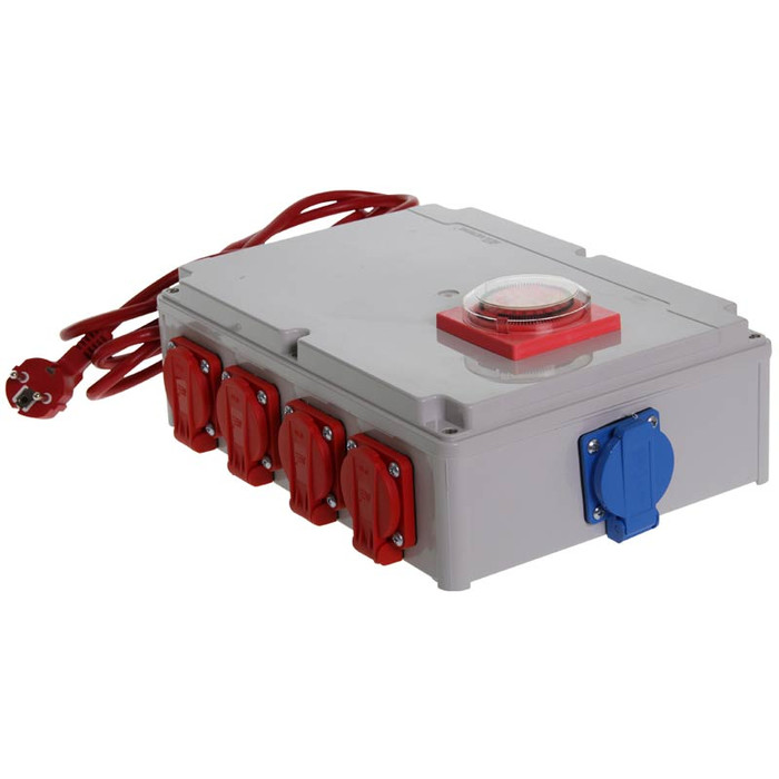 Relay Box 8 x 600 watt