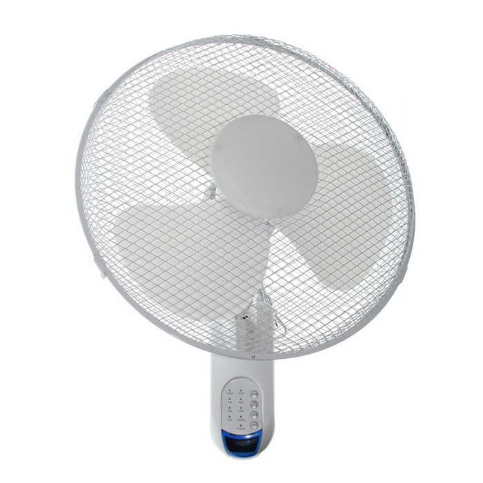 Remote-Controlled Oscillating Wall Fan