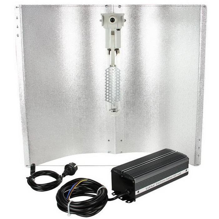 Lighting Kit HPS Flower Sylvania 600w + E-Ballast Lucilu...