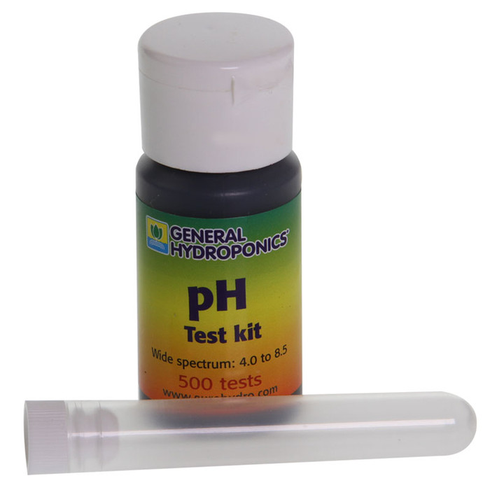 GHE pH Test Kit for 500 Tests (4.0 to 8.5 pH)
