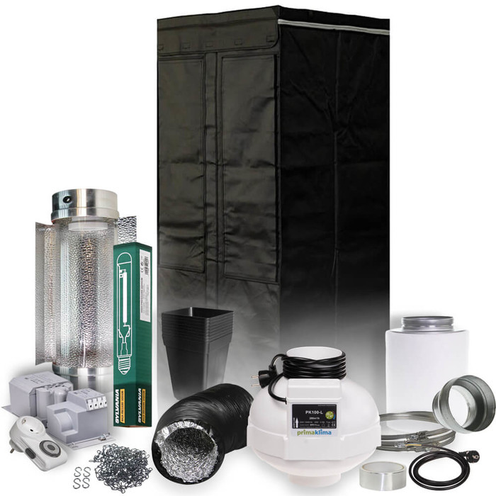 HomeLab Grow Kit 250W Cool Tube - 60x60x160 cm