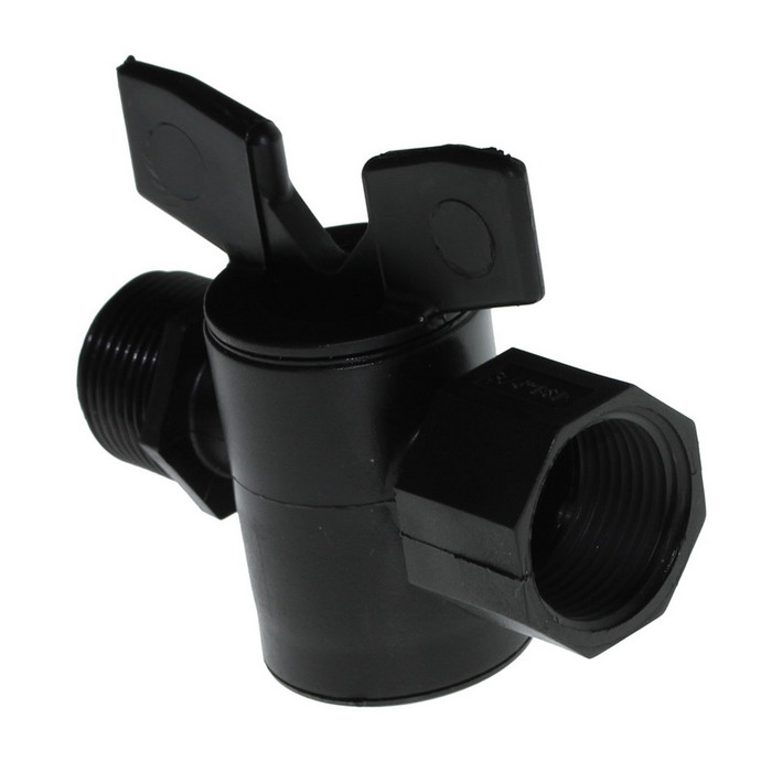 PE-easy Shut Off Valve 3/4 Inch to 3/4 Inch