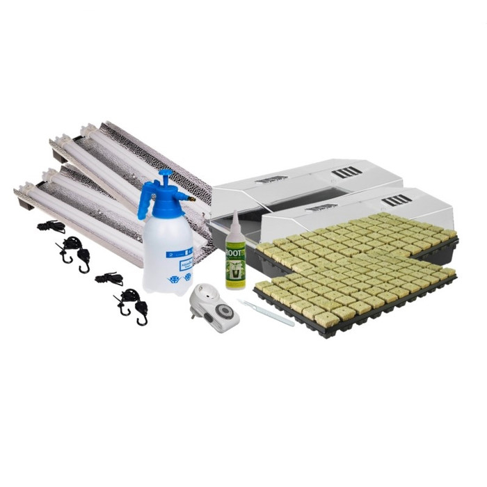 Propagation Set Mega 4x 55w Rockwool
