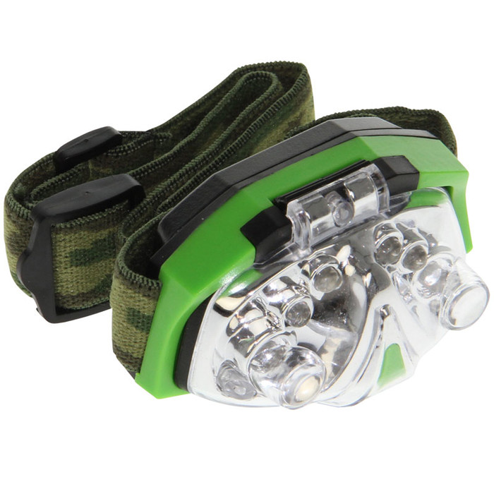 LED Head Lamp Green Light