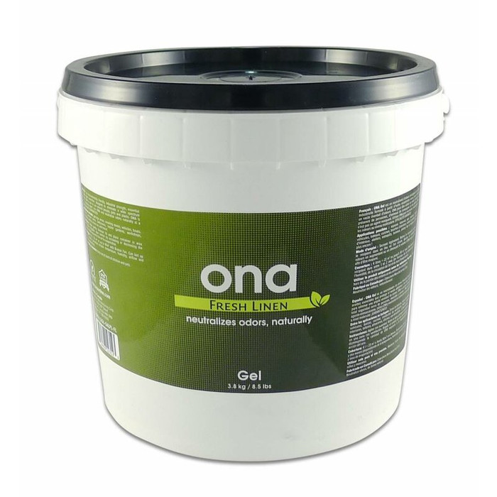 ONA Gel Fresh Linen 4 liter pot