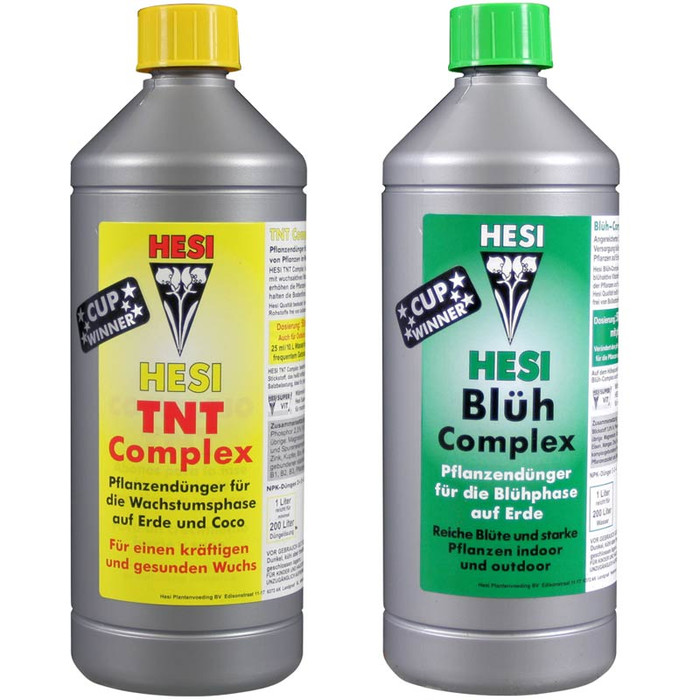 Hesi Easy Starter Set for soil 2x 1L
