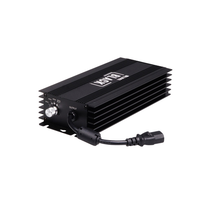 Lumii Black electronic ballast 600 watt Dimmable