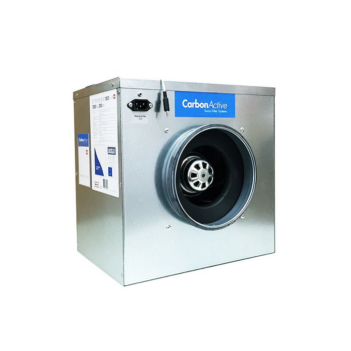 CarbonActive EC Silent Box Fan 280m³/h - 11000m³/h