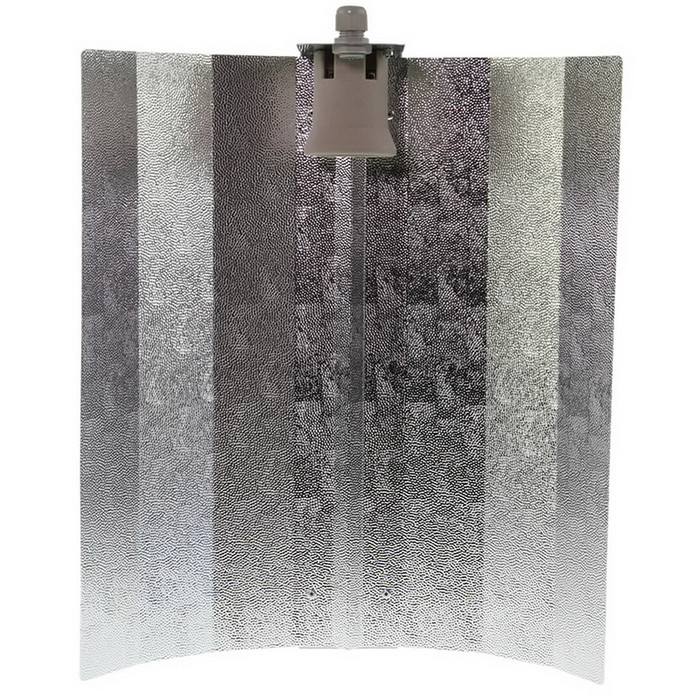 Reflector hammered finish 47cm x 40 cm E40 socket