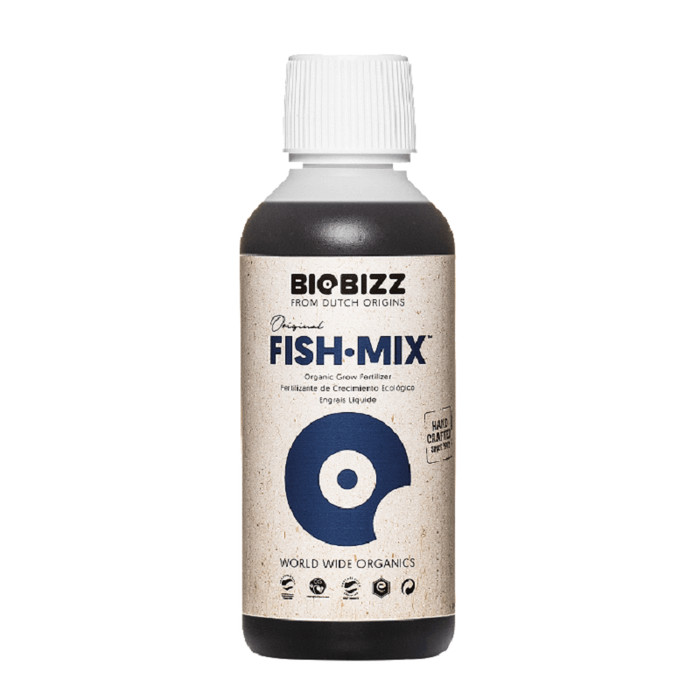 BIOBIZZ Fish-Mix organic grow fertilizer 250ml - 10L