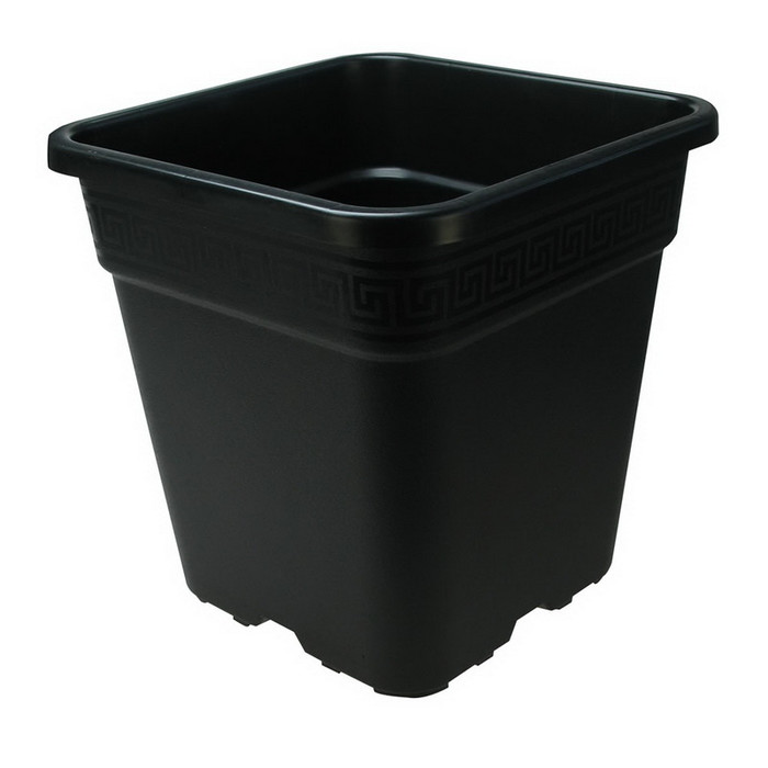 Sturdy square plant pot